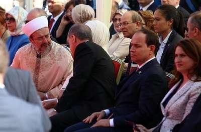 -Cumhurbaşkanı Erdoğan Tiran'da Namazgah Camii temel atma törenine katıldı (FOTOĞRAFLAR)