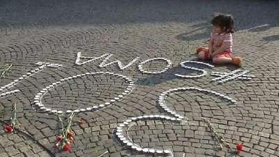 Soma şehitleri Almanya'da anıldı