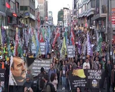 Kadıköy'de Soma için yürüyüş...