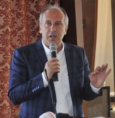 CHP'li İnce: Elinde Kuran, kursağında haram, dilinde yalan, meydanlarda Erdoğan