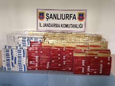 Yolcu otobüsünde bin 500 kaçak puro ele geçirildi