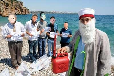 Milletvekili adayından liderlere Nasreddin Hoca'lı gönderme