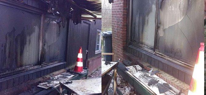 Hollanda'da bir cami daha kundaklandı