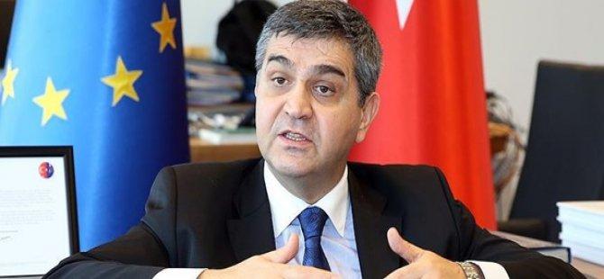 Kaymakçı: Türkiye'nin AB hedefi tam üyelik