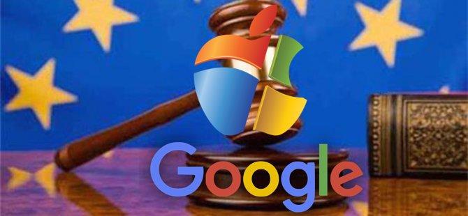 AB'den Google'a milyarlık ceza