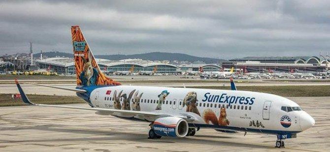 SunExpress'ten 3 yeni uçuş noktası