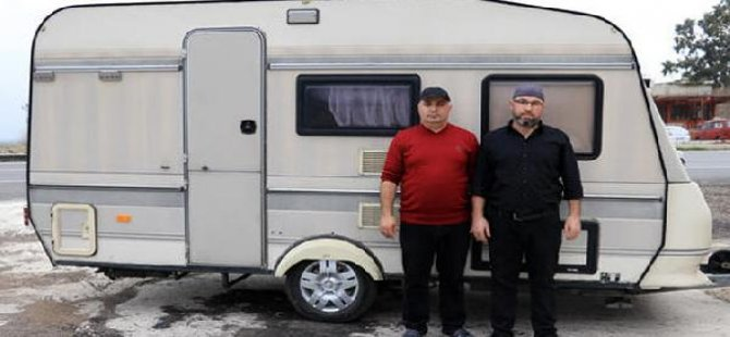 Gurbetçiden Mehmetçiğe 'karavan' bağışı