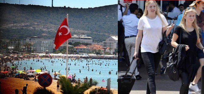 Türkiye'yi en çok Alman turistziyaret etti
