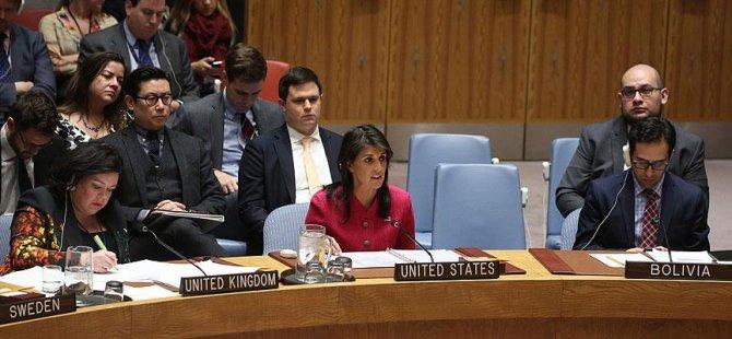 BM'de kritik Filistin tasarısı
