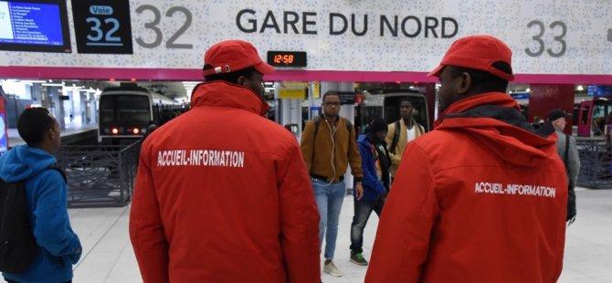 Fransa'da toplu taşıma çalışanları greve gitti