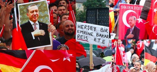 'Seçim kampanyanızı Almanya'ya taşımayın'