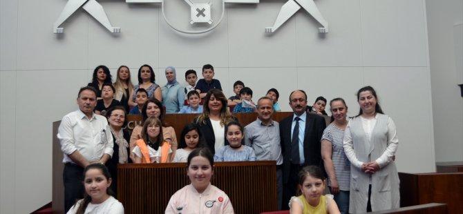 Türk öğrenciler Alman Meclisi'nde