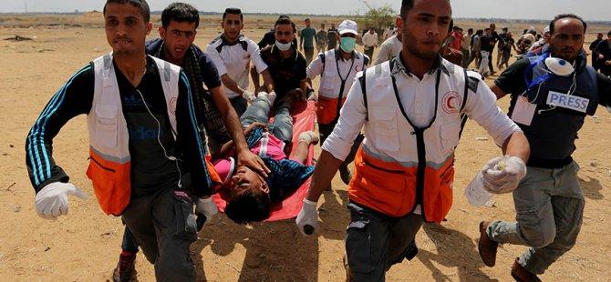 Filistin'de katliam: 52 ölü, 2410 yaralı