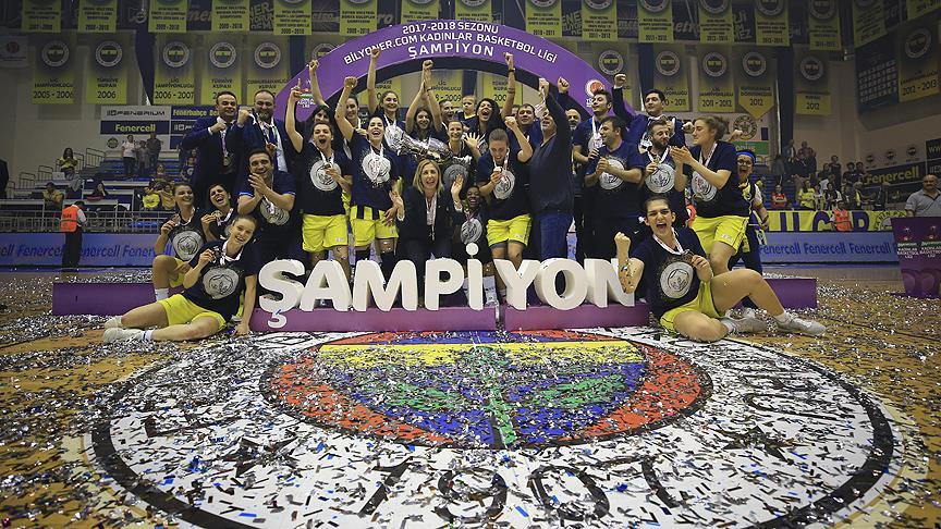 Fenerbahçe şampiyon