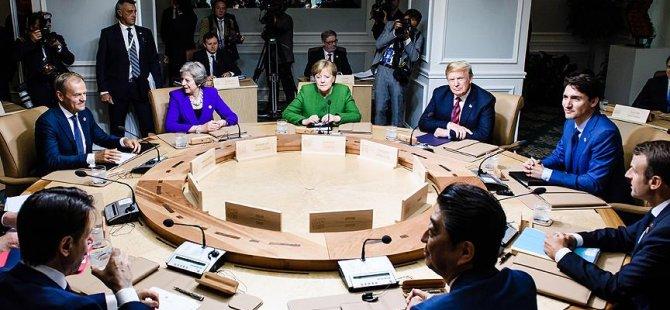 AB'den Trump'a G7 tepkisi