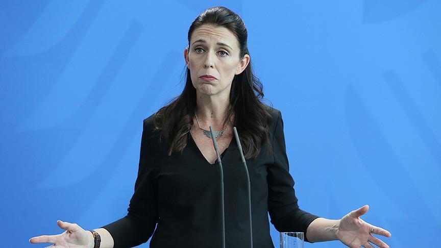 Başbakanı Ardern canlı yayında depreme yakalandı
