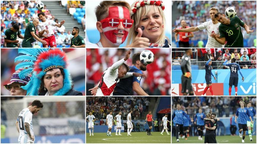 Dünya Kupası'nda 8. gün sona erdi