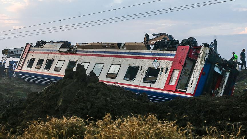 Tren kazasıyla ilgili 5 görevli savcılığa çağrıldı