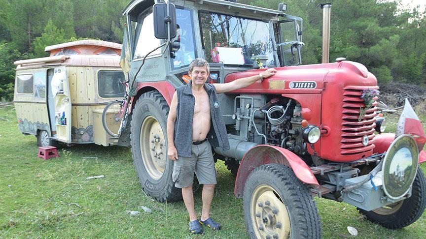 Avusturyalı çiftçi Kastamonu'ya ulaştı