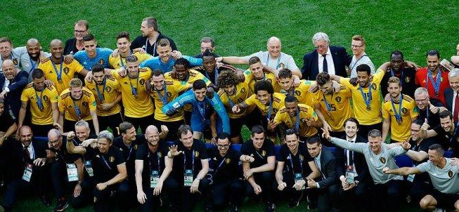 Dünya Kupası'nda 3. belli oldu