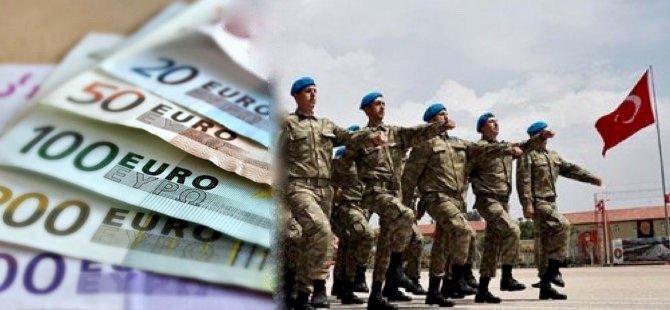 Dövizli askerlik 2 bin avroya yükseliyor