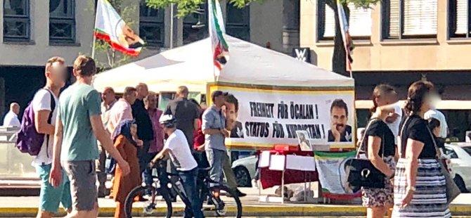 Almanya'nın ortasında PKK çadırı