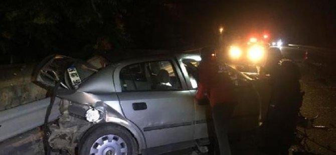 Gurbetçi kaza yaptı: 7 yaralı