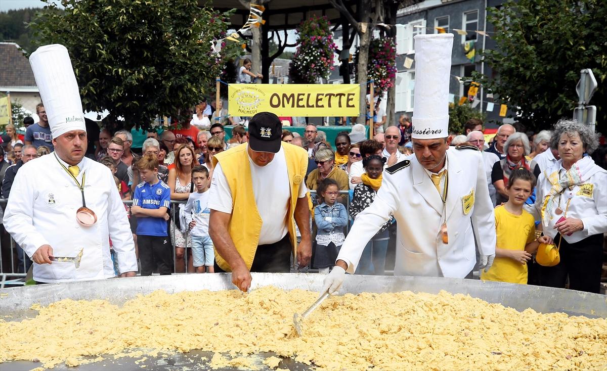 10 bin yumurtalı dev omlet