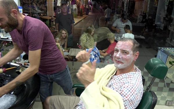 'Very good Turkish Barber' diye yazacağım'