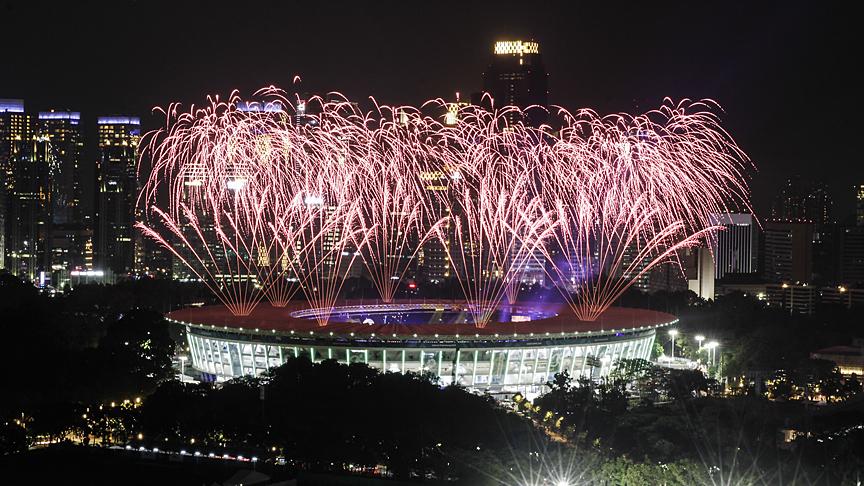 2018 Asya Oyunları başladı