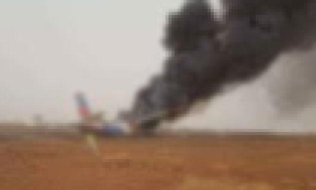Hollanda'da uçak düştü