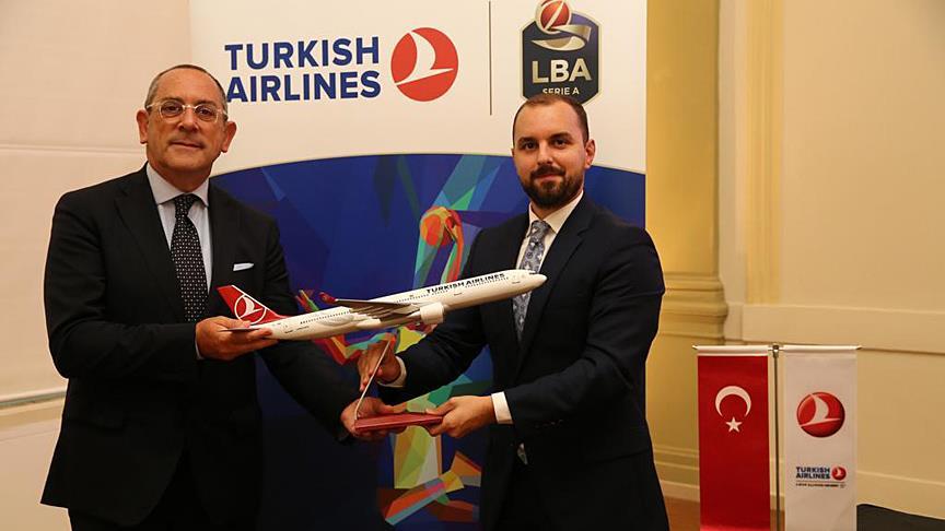 THY, İtalya Basketbol Ligi'nin sponsoru oldu