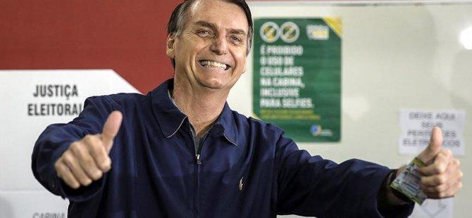 'Brezilya'nın Trump'ı ilk turu kazandı'
