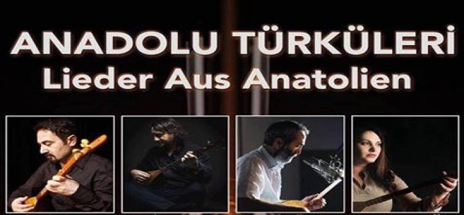 Frankfurt'ta Anadolu türküleri söylenecek