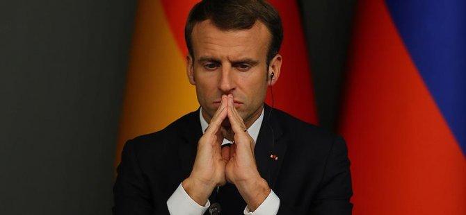 Fransa'da Macron'a suikast engellendi