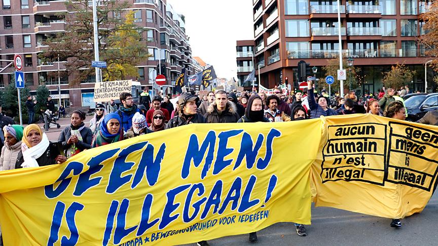 'Hiçbir insan kaçak değildir'