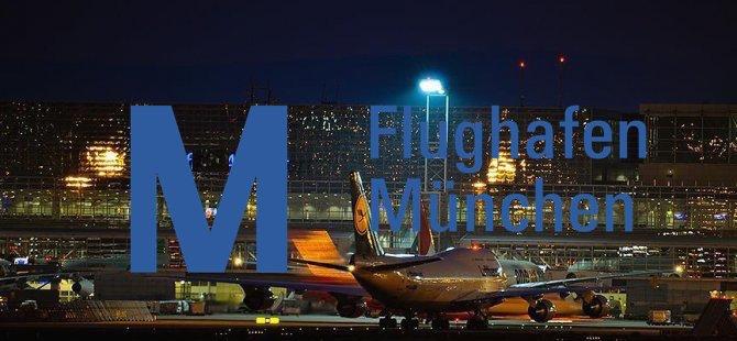 Münih Havalimanı'nda 130 uçuş iptal edildi