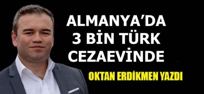Almanya'da 3 bin 92 Türk hapiste