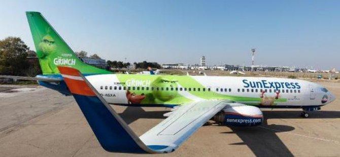 SunExpress uçağına ilginç boyama