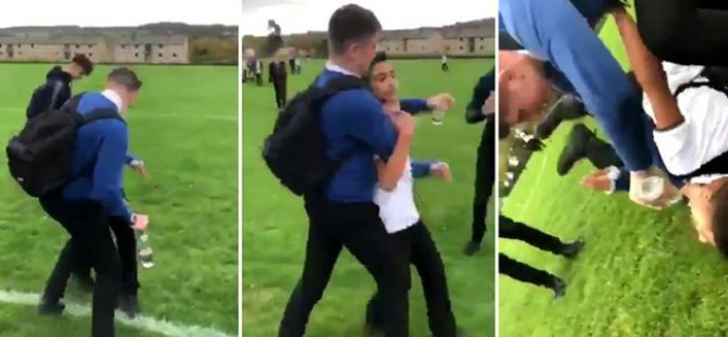 Mülteci kardeşlere okulda ırkçı saldırı