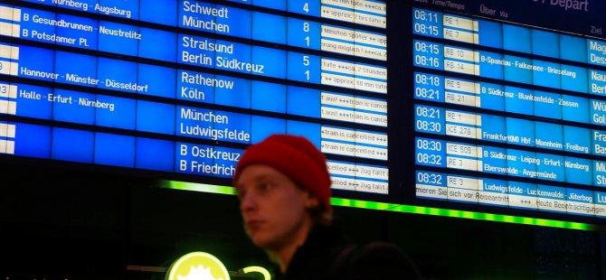 Almanya'da ülke çapında demiryolu grevi