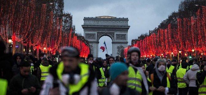 Macron sarı yeleklileri memnun edemedi
