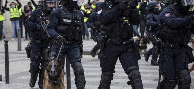 Fransız polisi bu kez engellileri hedef aldı