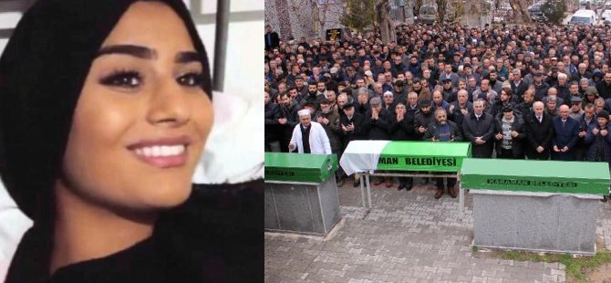 Öldürülen gurbetçi genç kız toprağa verildi