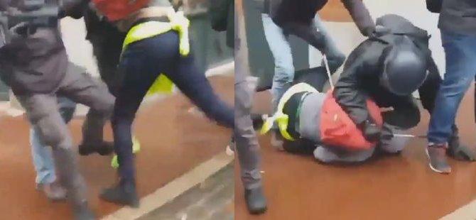 Fransız polisinin öfkesi dinmiyor