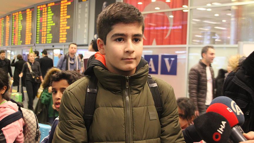 Mozart ödüllü küçük gurbetçi İstanbul'a geldi