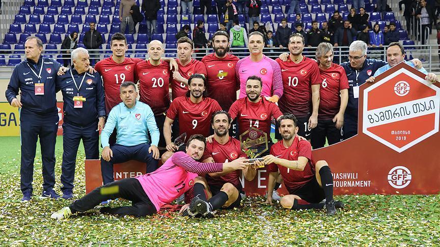 Millilerimiz Gürcistan'da şampiyon oldu