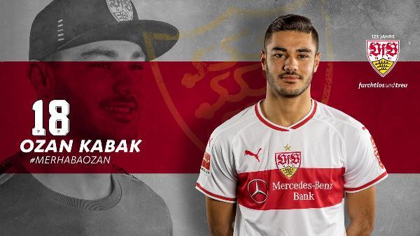 Ozan Kabak resmen Stuttgart'ta
