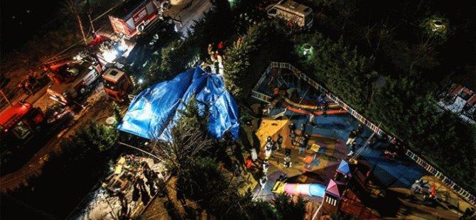 İstanbul'da helikopter düştü: 4 şehit