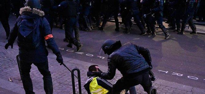 Fransa'da 25 kişi gözünü kaybetti